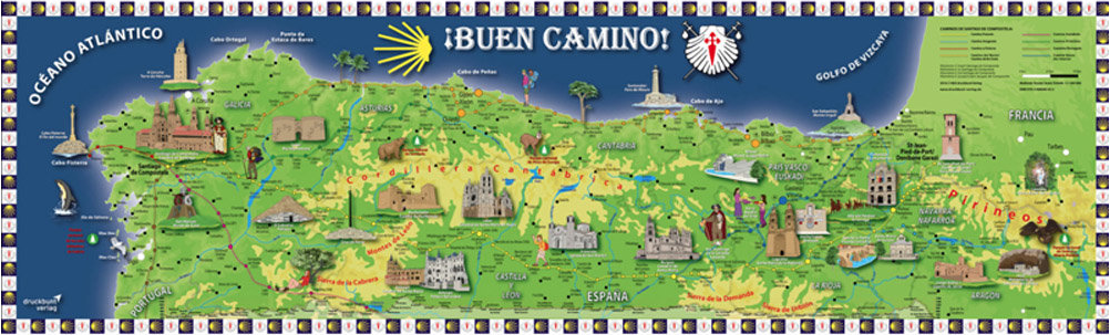 Pin on El Camino de Santiago